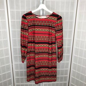 Jude Connally Long Sleeves Dress Size Small